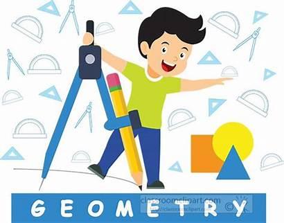 Clipart Geometry Background Tools Compass Mathematics Boy