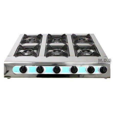 propane countertop stoves stove 6 burner 28 quot countertop outdoor cing