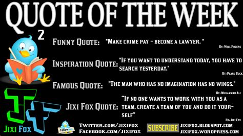 Famous Quotes About 'week'  Sualci Quotes