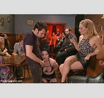 Hot Slut Veruca Publicly Shamed And Pounded In Crowded Bar With Veruca James Public Disgrace