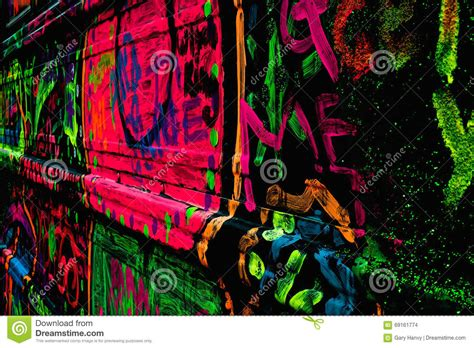 neon graffiti stock photo image  abstract painted