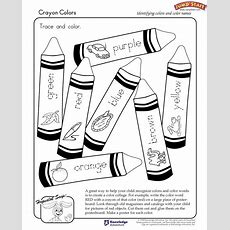 """crayon Colors""  Kindergarten Coloring Worksheets #jumpstart  Classroom  Pinterest Coloring"