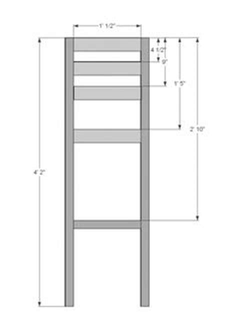ana white build  simple modern bar stools