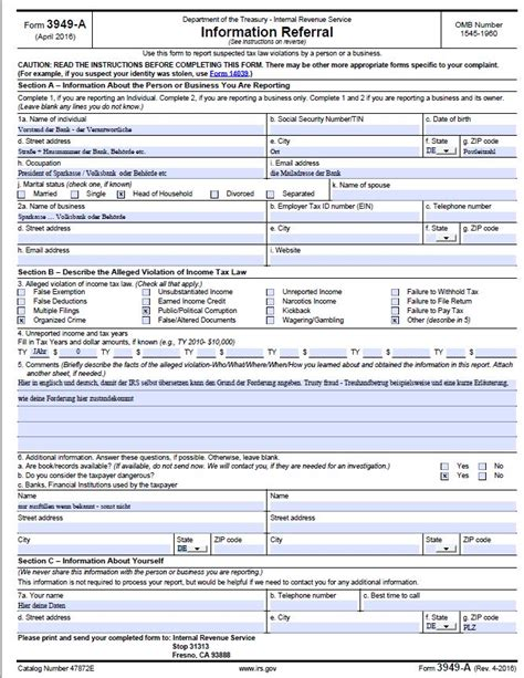 irs form   wiensworld