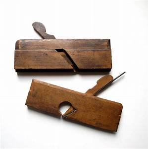 Antique Carpentry Tools Woodworking Wood Plane by