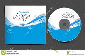 cd cover design stock vector image of design isolated With cd cover design template free download