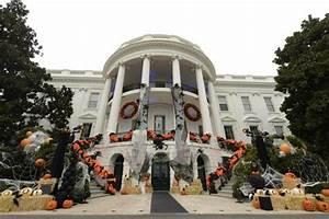Halloween In Amerika : la casa blanca se viste de halloween la rep blica ec ~ Frokenaadalensverden.com Haus und Dekorationen