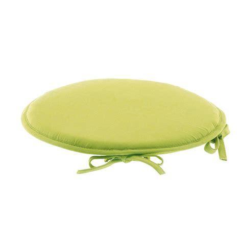galette de chaise ronde galette de chaise ronde 100 coton vert vert autres ebay