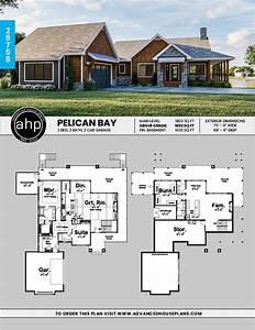 1, Story, Craftsman, Style, House, Plan