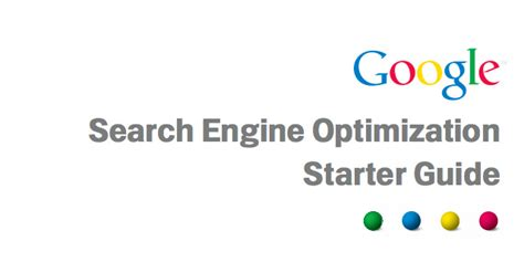 Seo Starter Guide - s seo starter guide from 2010 still relevant
