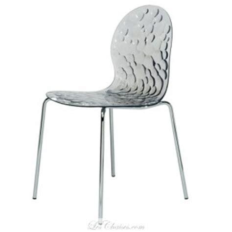 chaise de cuisine transparente chaises design transparente et chaises transparente