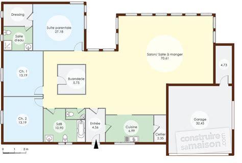 une maison en ossature bois d 233 du plan de une maison en ossature bois faire construire