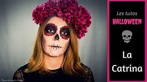 Tete De Mort Mexicaine Femme : maquillage t te de mort mexicaine halloween youtube ~ Melissatoandfro.com Idées de Décoration
