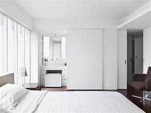 Bad Im Schlafzimmer : schlafzimmer mit bad en suite hinter schiebet ren ~ A.2002-acura-tl-radio.info Haus und Dekorationen