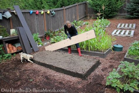 Build A Garden by Building New Garden Boxes One Hundred Dollars A Month