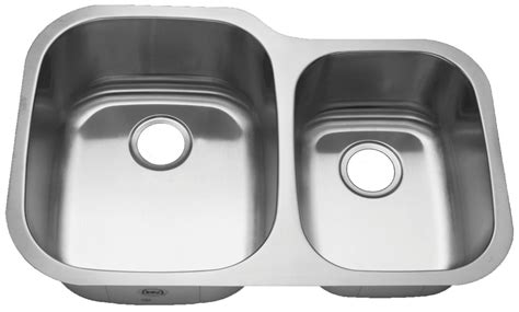 60 40 stainless steel sink royalty r02 duke 60 40 double bowl undermount stainless