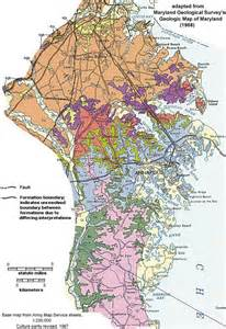 Anne Arundel County MD Map