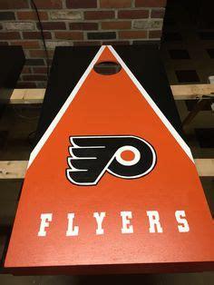 philadelphia flyers cornhole boards  bags