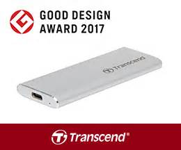 transcend wins good design award 2017