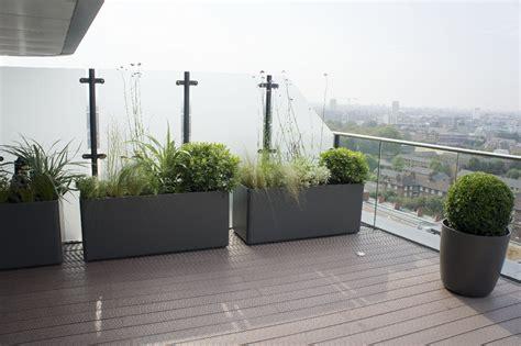 roof terrace design roof terrace planters outdoor