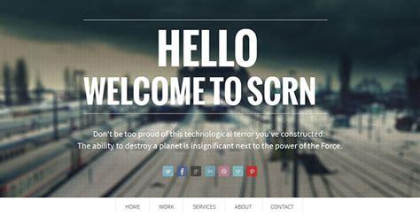 parallax website templates  web graphic
