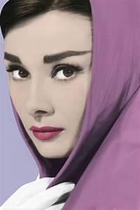 Audrey Hepburn Poster : audrey hepburn shawl poster sold at ~ Eleganceandgraceweddings.com Haus und Dekorationen