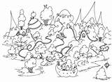 Pages Coloring Island Guinea Pig Grassland Rhode Colouring Ice Cream Printable Bison Penguin Pigs Sheets Seuss Dr Adult Animals Pdf sketch template