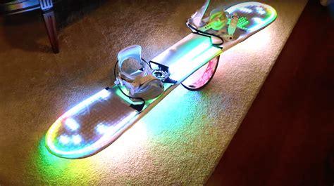 snowboard led lights led snowboard lighting kit allows for safe late