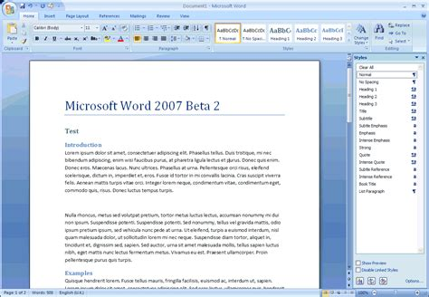 word tools microsoft office word 2007 12 0 6504 5000 screenshots