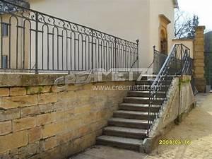 Garde Corp Escalier : etude et fabrication garde corps escalier ext rieur ~ Dallasstarsshop.com Idées de Décoration