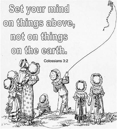 Coloring Colossians Bible Earth Pages Verse Things