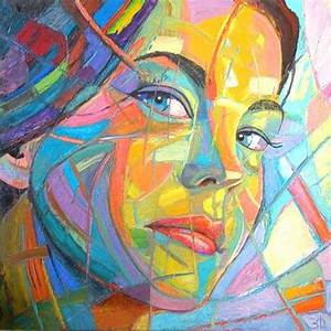 79 best images about Art Class-Abstract Faces on Pinterest ...