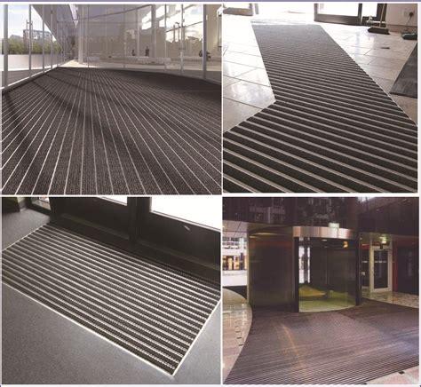 recessed walk mat aluminum base interlocking easy install walk mats