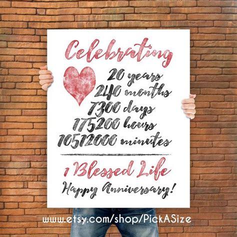 Gift Ideas For 20th Wedding Anniversary For Husband - Eskayalitim