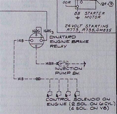 Jake Brake Switch Engine Transmission