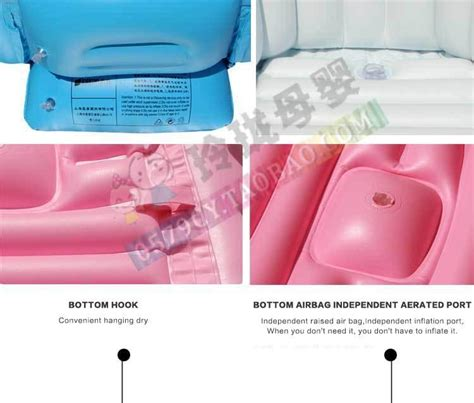 new design inflatable baby bathtub inflating bath tub for