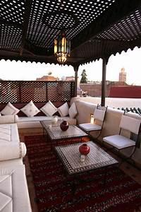 La Maison Du Parasol : une terrasse la marocaine bricobistro ~ Dailycaller-alerts.com Idées de Décoration