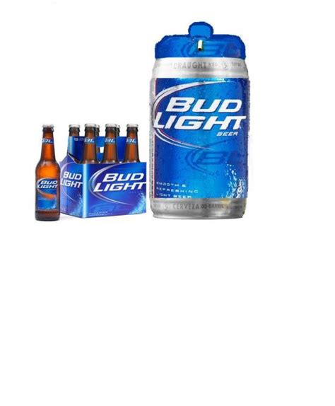 bud light can sizes how much is a keg of bud light iron blog