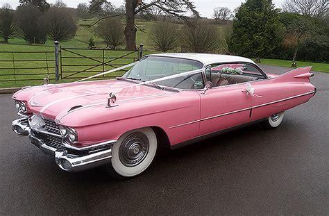 1959 Pink Cadillac Coupe De Ville | American Wedding Cars