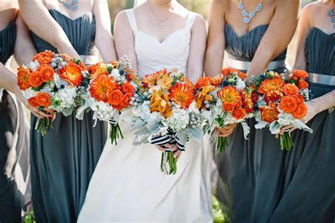 orange  turquoise fall vintage wedding soiree belle