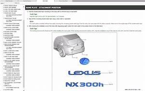 Lexus Nx300h Repair Manual Pdf  07 2014