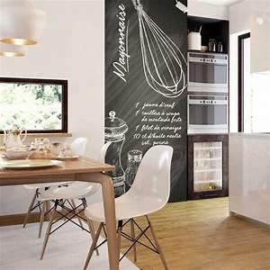 Tapisserie Pour Cuisine : papier peint recette cuisine ~ Premium-room.com Idées de Décoration