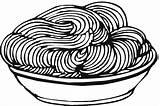 Coloring Pasta Spaghetti Pages Sheet Clipart Meatballs Noodles Template Delicious Children Espaguetis Templates sketch template