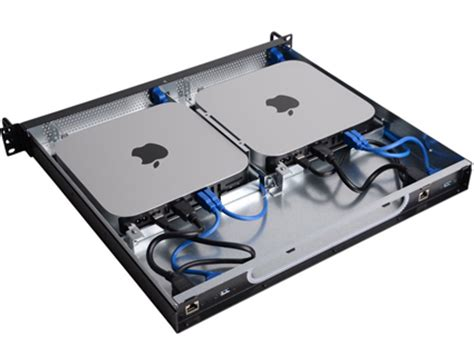 mac mini rack datatale product thunderbolt raid storage system