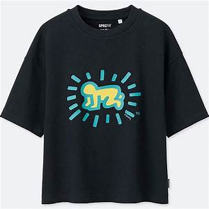 T Shirt Keith Haring : women sprz short sleeve graphic t shirt keith haring uniqlo us ~ Melissatoandfro.com Idées de Décoration