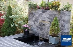Wasserfall Brunnen Selber Bauen : edelstahl wasserfall bauteil victoria 30 cm slink ideen mit wasser ~ Buech-reservation.com Haus und Dekorationen