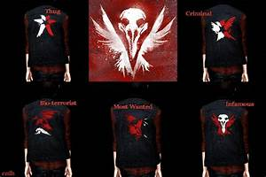 My Sims 3 Blog: inFAMOUS: Second Son Karma Vests by Thecnih