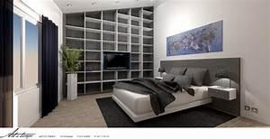 Idee deco une chambre design mag en ligne for Chambre a coucher adulte avec fenetre en alu sur mesure