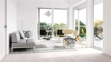 scandinavian style living room ideas