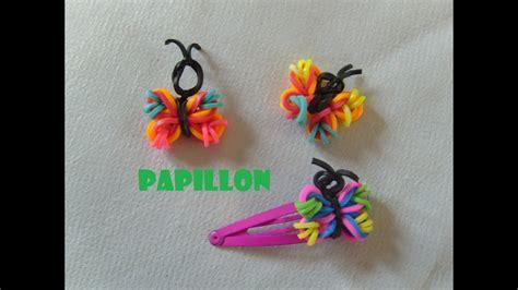 bracelet elastique tuto papillon en 233 lastiques tuto francais bracelet elastique rainbow loom bands